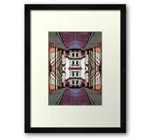 Cozy Old Town Art Framed Print
