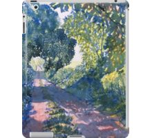 """Hockney's Tunnel of Trees"" iPad Case/Skin"