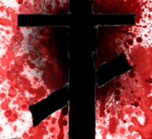 Frank Iero - Frnkiero Andthe Cellabration Logo Splatter Sticker