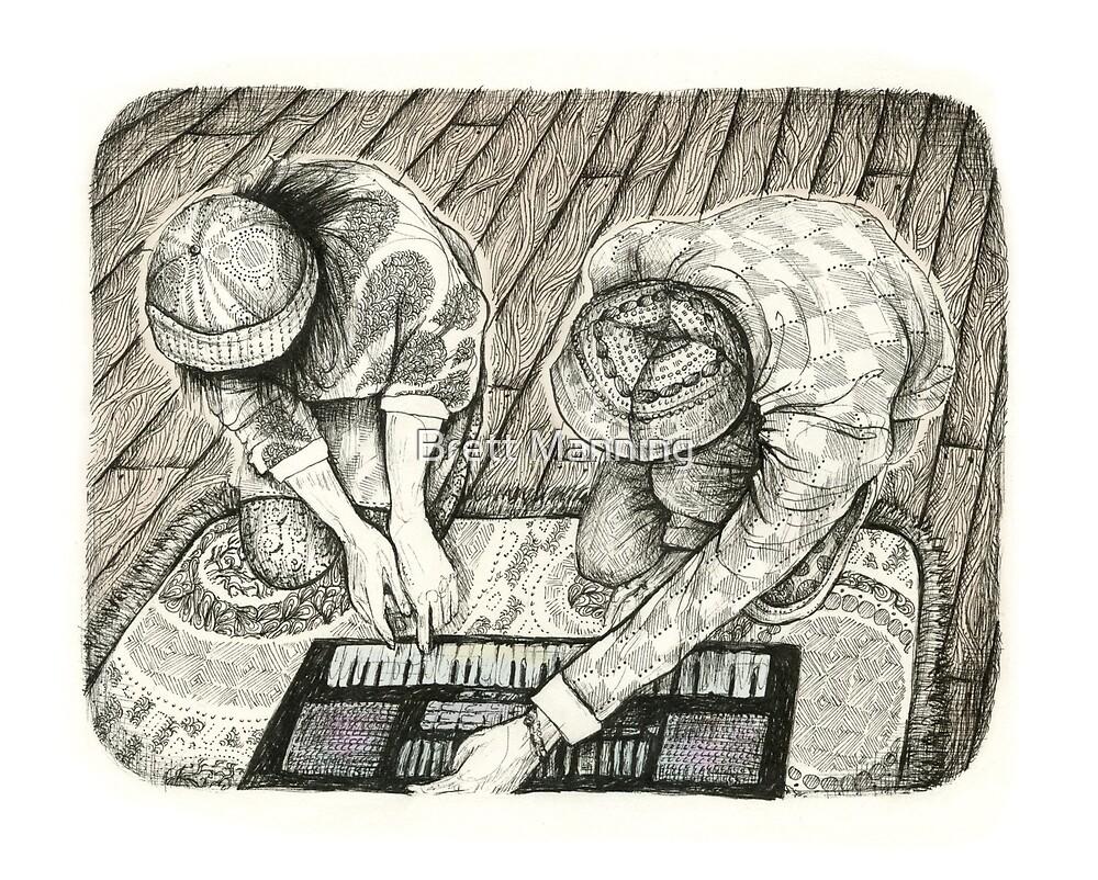 Keyboard Love by brettisagirl