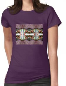 Old Town Stories Art 2 Womens Fitted T-Shirt