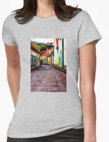 Old Town Stories Womens Fitted T-Shirt