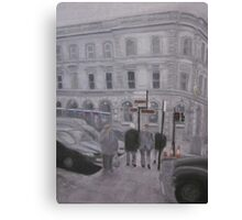 Dublin Crossroads Canvas Print