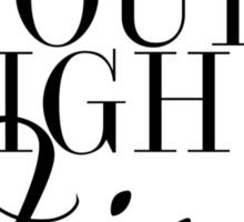 Let Your Light Shine 1 Sticker