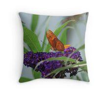 Purple Plains Throw Pillow