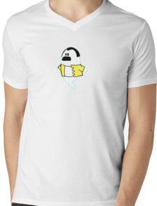 Freddie's Ghost Mens V-Neck T-Shirt