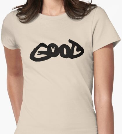Good (evil) Womens Fitted T-Shirt