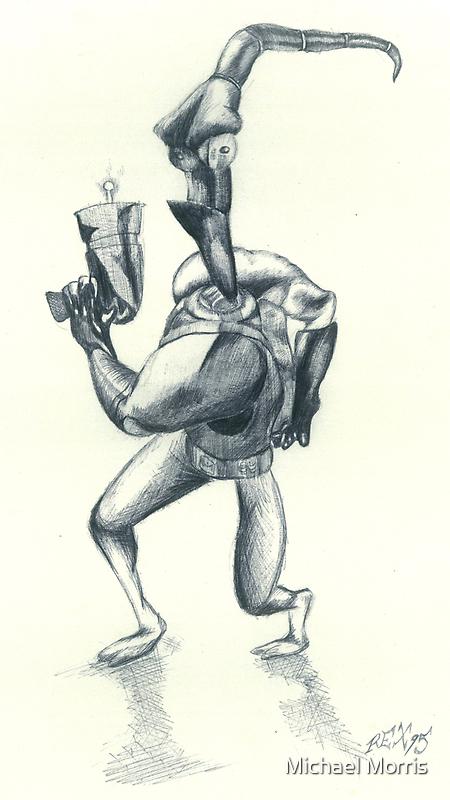 Earthworm Jim by Michael Morris