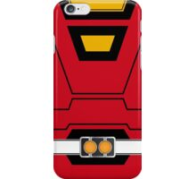 PRT Red Ranger Phone Case iPhone Case/Skin