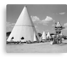Wigwam Motel, 1940 Canvas Print
