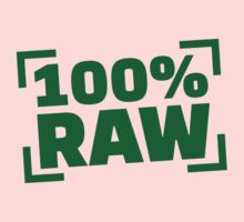 100% Raw food One Piece - Long Sleeve