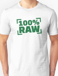 100% Raw food Unisex T-Shirt