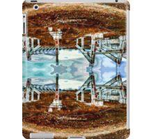 Thrown Stadium Art iPad Case/Skin