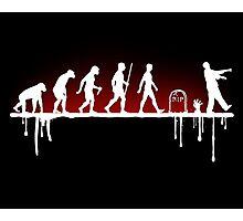 Evolution: Zombie Photographic Print
