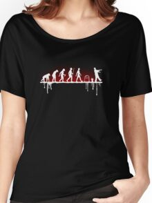 Evolution: Zombie Women's Relaxed Fit T-Shirt