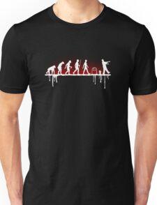 Evolution: Zombie Unisex T-Shirt