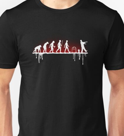 Evolution: Zombie Unisex T-Shirt