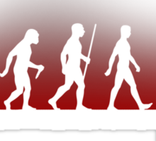 Evolution: Zombie Sticker
