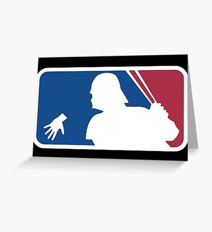 Lightsaber League Greeting Card