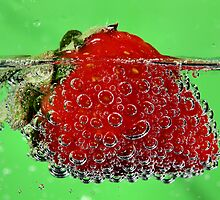 Strawberry Bubbles by Joe Thill