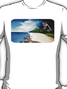 Link's Awakening Washed Ashore  T-Shirt