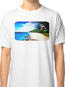 Link's Awakening Washed Ashore  Classic T-Shirt