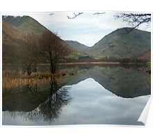 The Lake District: Brothers Water reflections. Poster