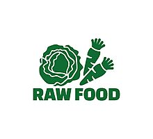 Raw food Photographic Print