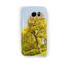 Green spring trees view Samsung Galaxy Case/Skin