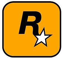 Rockstar Games Logo  Photographic Print