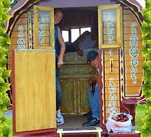 Gypsy Caravan by Sue Gurney