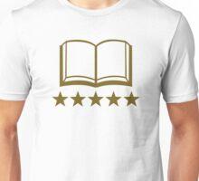 Book golden stars Unisex T-Shirt