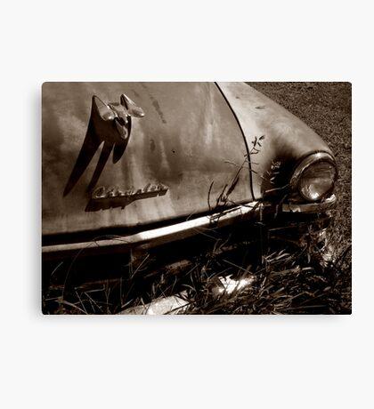 Creeping Chrysler Canvas Print