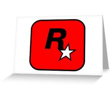 Rockstar Toronto Logo Greeting Card