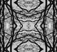 Tilia silhouette ornament B Sticker