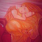 Angel sleeping by Sally Carter