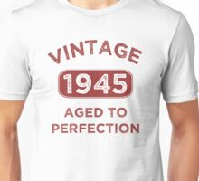 1945 Vintage Distressed Unisex T-Shirt