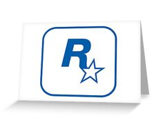 Rockstar Leeds Logo Greeting Card