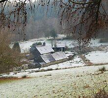 Winter Farm by Caliosg