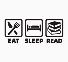 Eat sleep read by Designzz