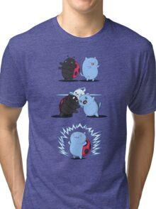 Fusion of a cat and a bug Tri-blend T-Shirt