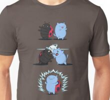 Fusion of a cat and a bug Unisex T-Shirt