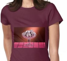 gingerbread cookies with icing of chocolate Womens Fitted T-Shirt