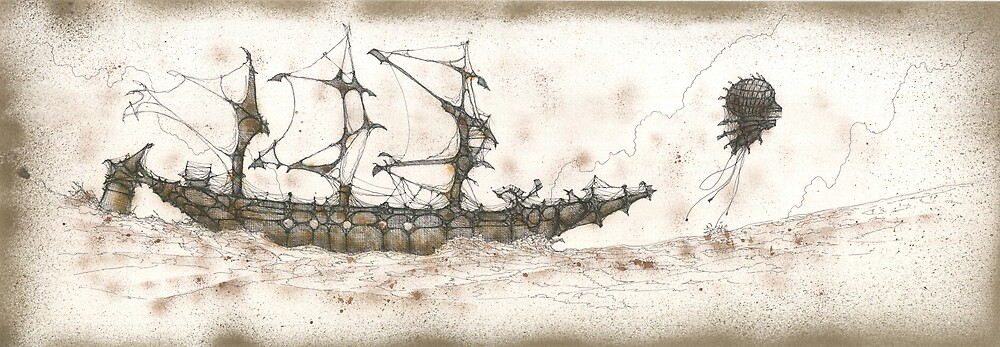 The long boat by Daniele Lunghini