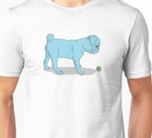 Pug and Ball Unisex T-Shirt
