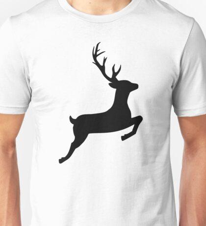 Jumping reindeer Unisex T-Shirt