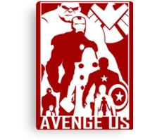 Avenge Us Canvas Print