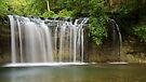 Gour Bleu in Herisson waterfalls by Patrick Morand