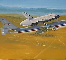 NASA Space Shuttle Enterprise by Hernan W. Anibarro