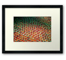 GLUE BALL  Framed Print